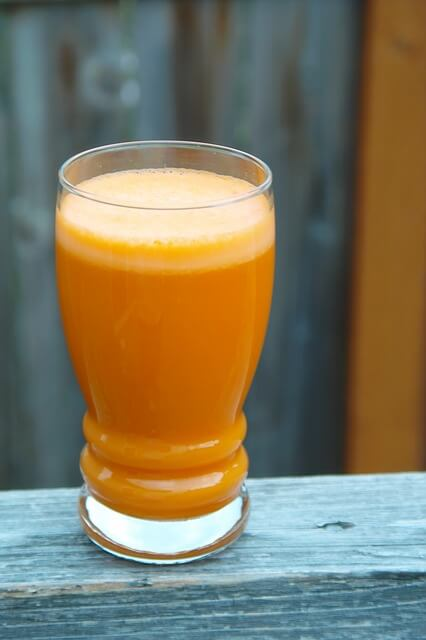 She beat the odds by drinking carrot Juice
