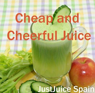 """""""Cheap and Cheerful"""" Juice doesn't cost an arm and leg to make!!!"""
