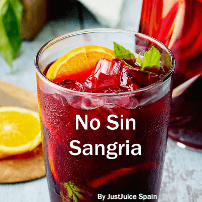 """Always Win in the End… with the """"No Sin Sangria"""" Juice Recipe"""