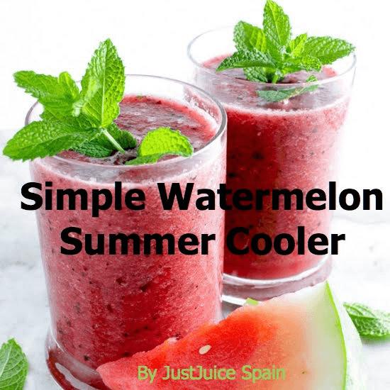 Simple Watermelon Summer Cooler Recipe